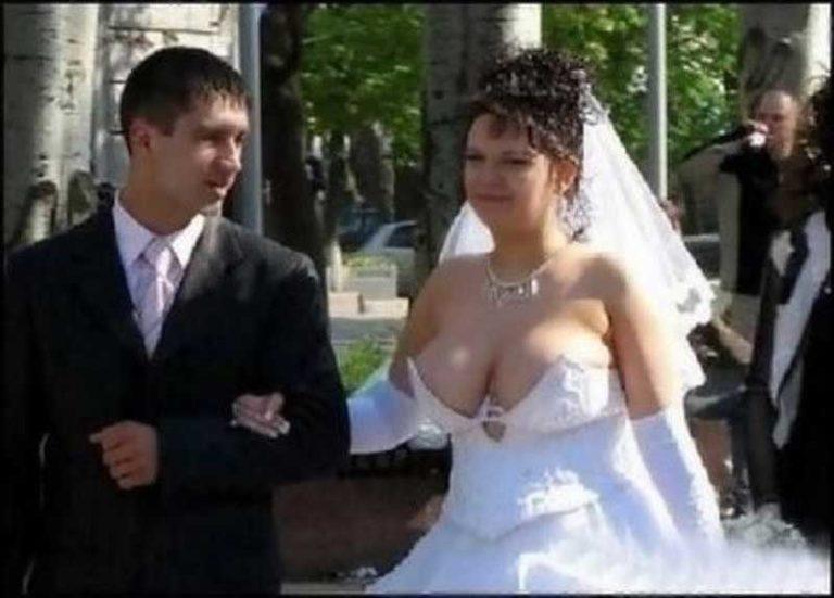 голые фото со свадьбы