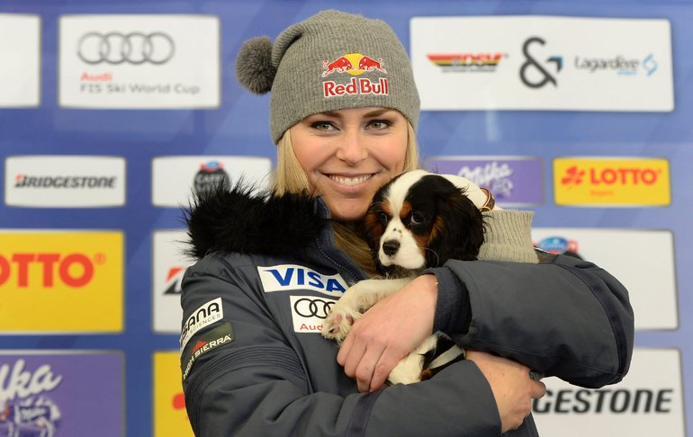 Lindsey Vonn And Lucie