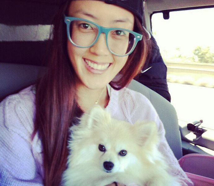 Michelle Wie And Lola
