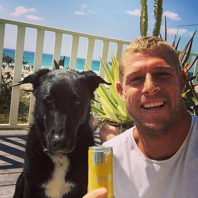 Mick Fanning And Harper