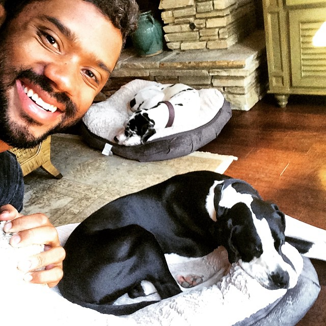 Russell Wilson And Tyson And Texas