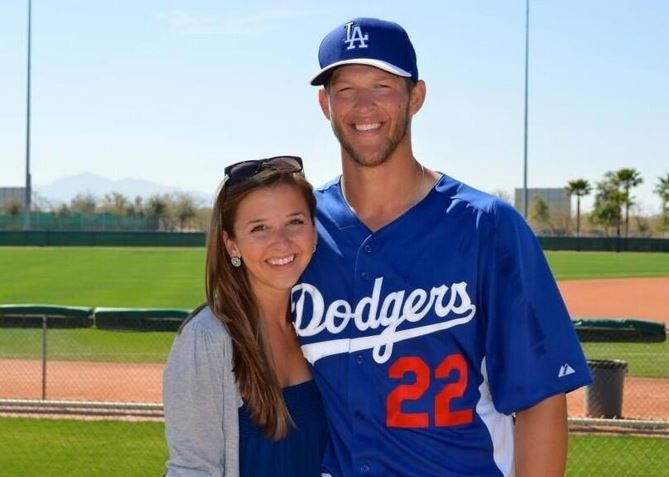 Clayton Kershaw And Ellen Melson
