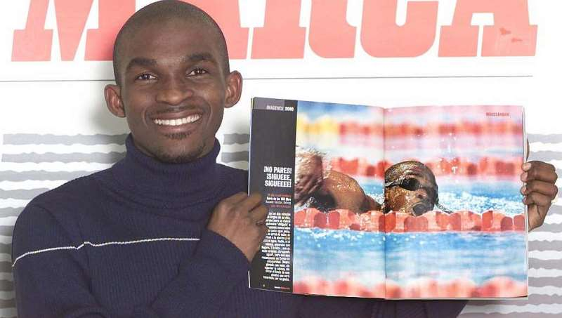 Eric Moussambanis Big Race