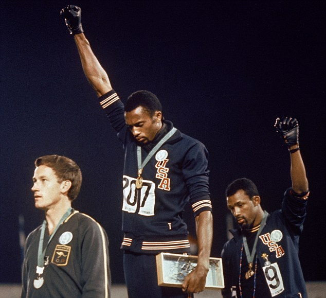 Tommie Smith And John Carlos Call For Equality