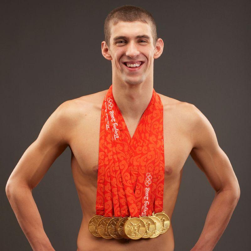 Michael Phelps Arrives