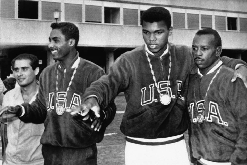 Cassius Clay Competed In The 1960 Summer Games