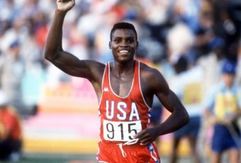 Carl Lewis Wins Big
