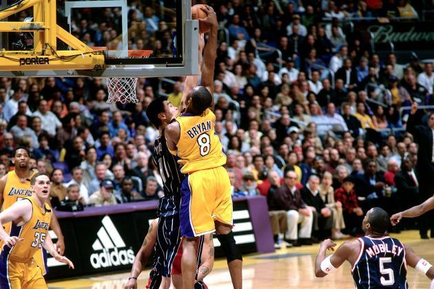 Kobe Bryant Over Yao Ming
