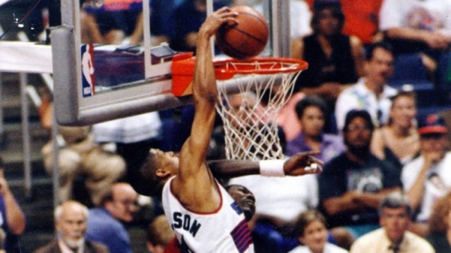 Kevin Johnson Over Hakeem
