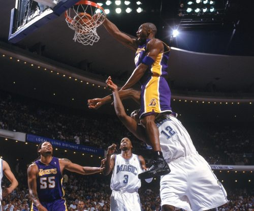 Kobe Bryant With No Regard