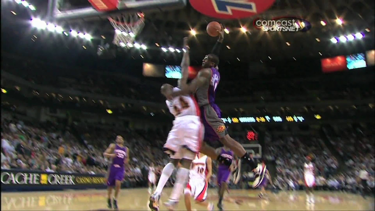 Amare Stoudemire Ruins Anthony Tolliver