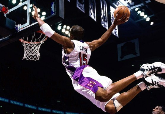 Vince Carter Goes UP