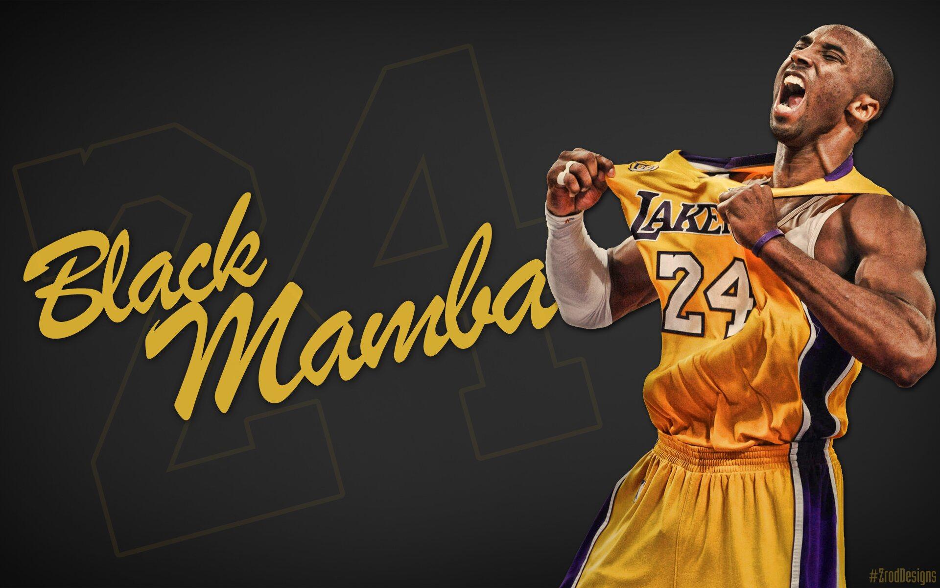 Kobe Bryant 'Black Mamba'