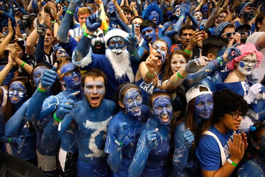 Duke Blue Devils Fans
