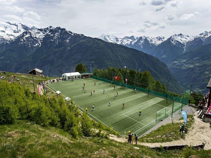 Allalin Glacier Pennine Alps, Switzerland