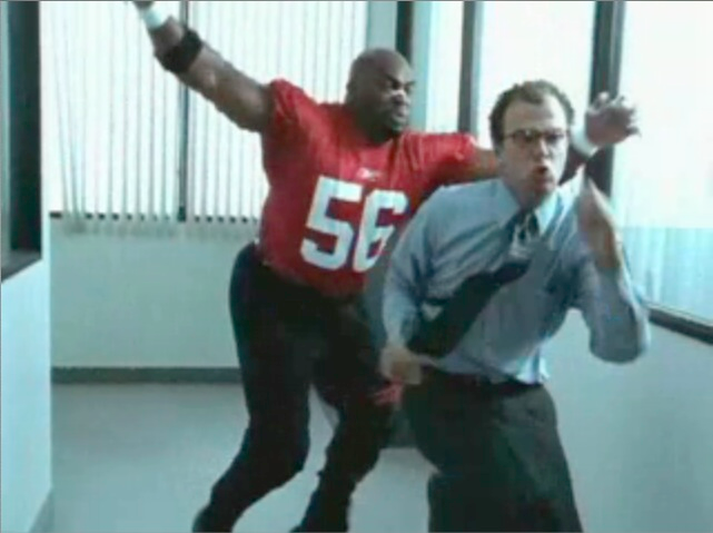 "Reebok's ""Office Linebacker With Terry Tate"""