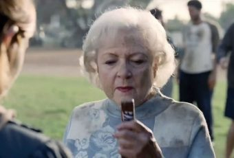 Snickers – Betty White
