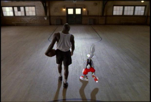 Nike Michael Jordan And Bugs Bunny