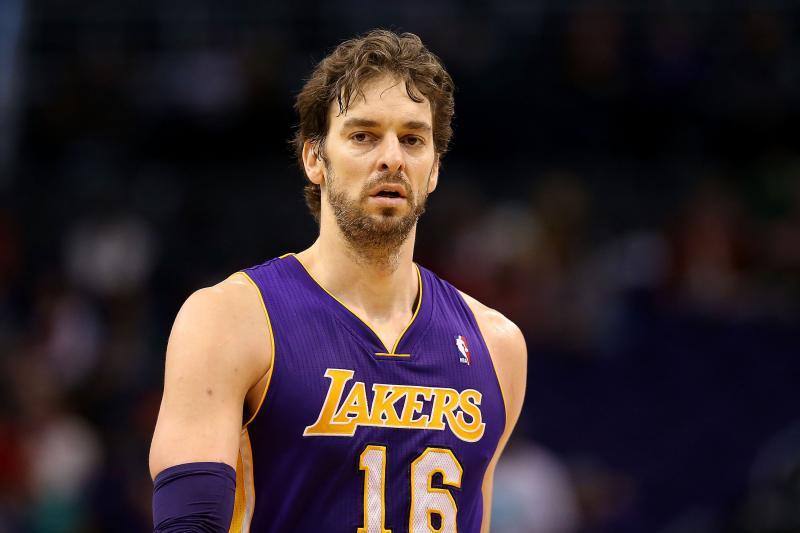 Pau Gasol Los Angeles Lakers