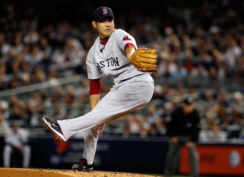 Daisuke Matsuzaka Boston Red Sox<