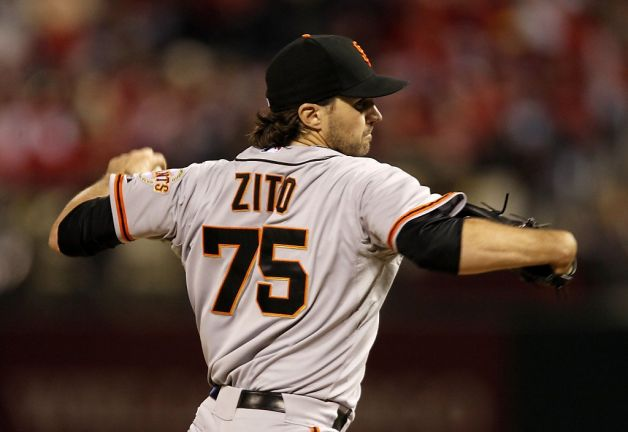 Barry Zito San Francisco Giants