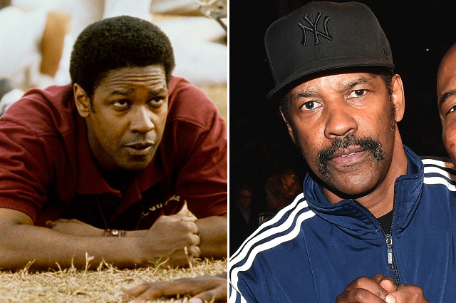 Denzel Washington As Coach Herman Boone