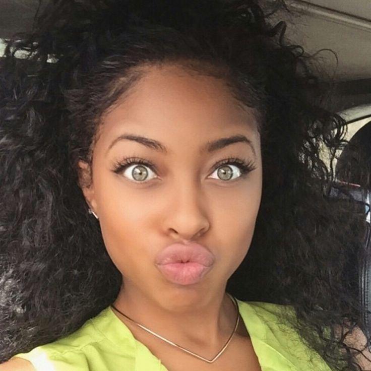 black with beautiful women eyes Ebony