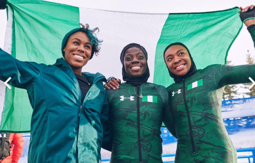 Nigerias Womens Bobsled Team