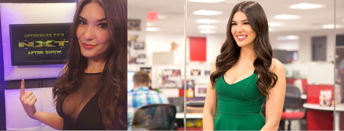 WWE CATHY KELLEY - Cathy Kelley, the new announcer for WWE