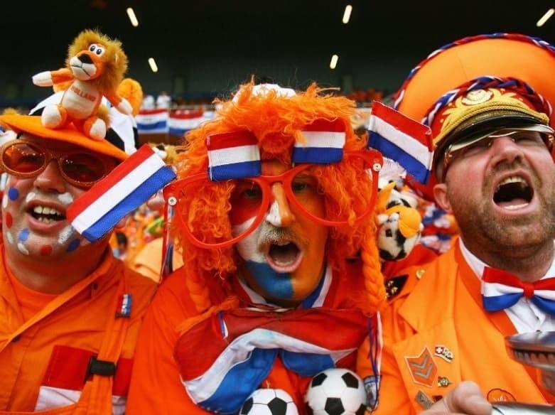 Fans Timnas Belanda (The Oranje)